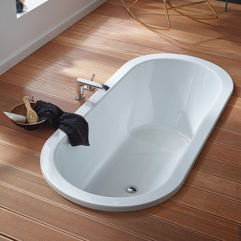 Acryl Einbau-Badewanne Crispa